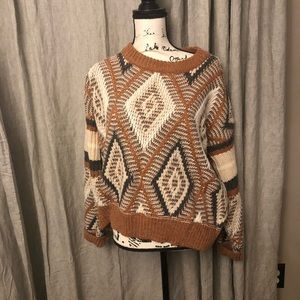 Free People chunky sweater in size Medium